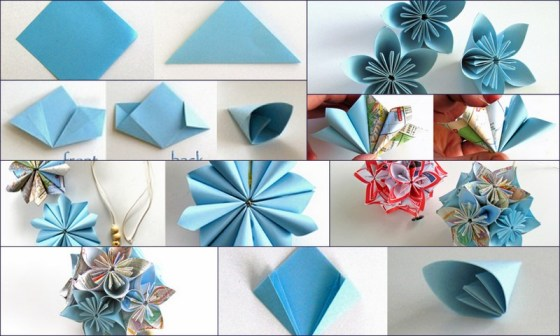 Flower Ball Kusudama - Folding Trees Tutorial