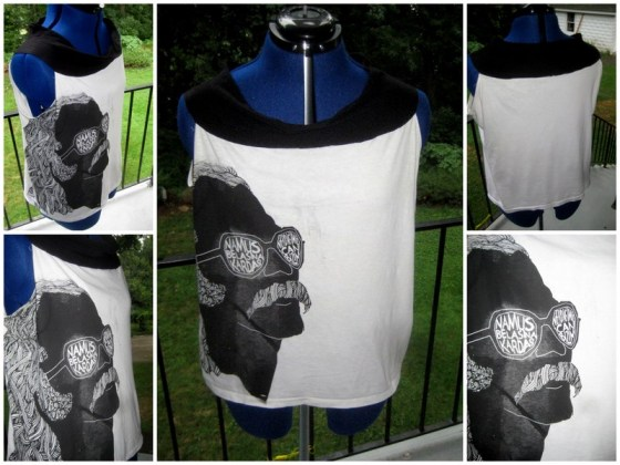 Razblint - Cem Karaca Shirt - Black On White