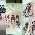 3 Turks Tshirt, Drawn Shirt