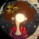 Fabric Portrait Mirror