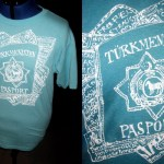Drawn Shirt: Passport to Turkmenistan