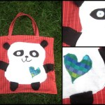 Panda The Tote Bag