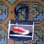 The Red Canvas AllStar Sneaker Tote