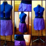Purple Skirt, Red Skirt