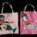 The Disinterested Mermaid Tote Bags