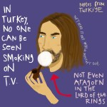 Notes from Turkey, on smoking
