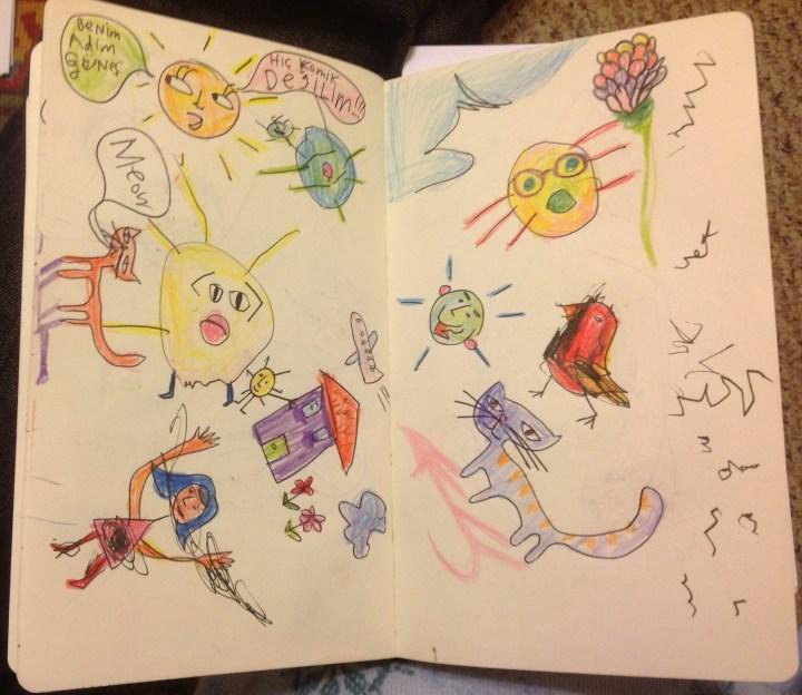 Notebook - turkish crazy sun
