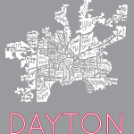 Dayton City Neighborhood map