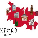 Oxford, Ohio town map