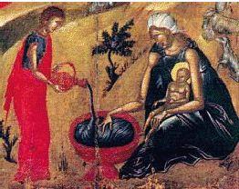 the bath of the Child Jesus