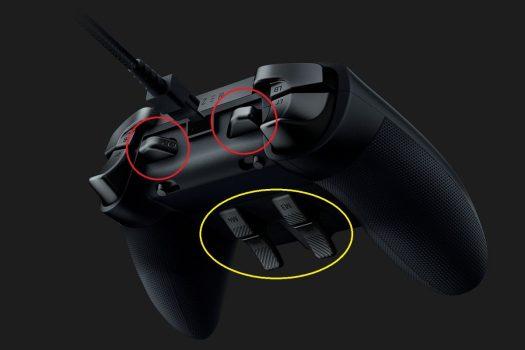 Ultimateはバンパーに2個、トリガーに4個の追加ボタン