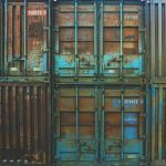 rusty containers