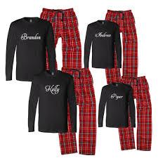 Christmas pajamas..