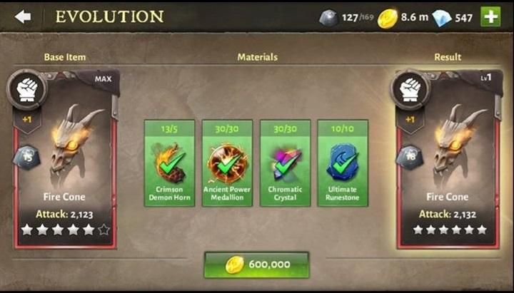 T6ing Skills – Evolution Materials Needed