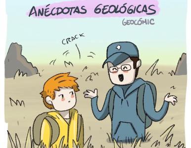 Cómic de «Anécdotas Geológicas» en la Gaceta Gondwana