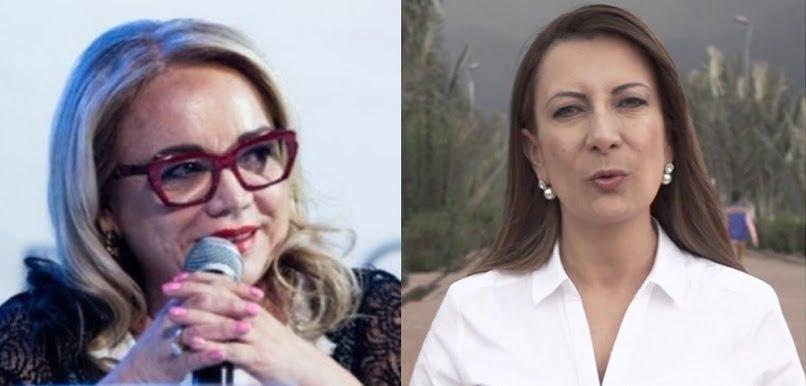 La senadora Claudia Rodríguez y la representante Ángela Sánchez / Tomada de https://www.bluradio.comLa senadora Claudia Rodríguez y la representante Ángela Sánchez / Tomada de https://www.bluradio.com
