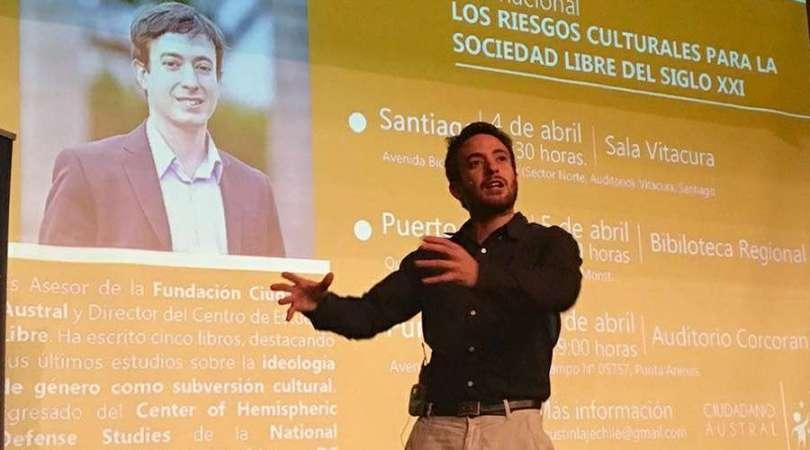 Agustín Laje, uno de los mayores críticos de la ideología de género en hispanoamerica