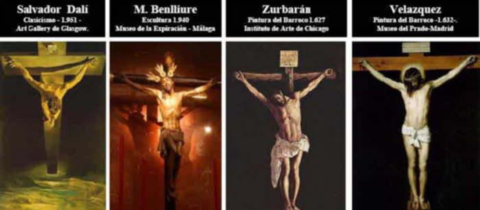 Pinturas de Jesús Crucificado