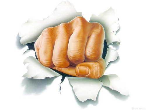 La mano punitiva