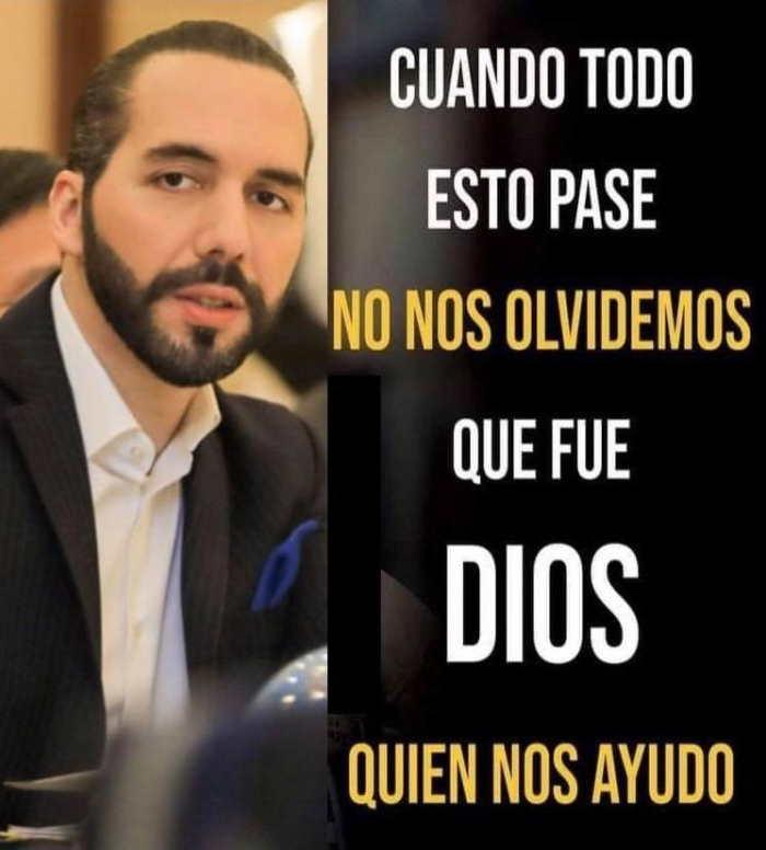 Presidente de El Salvador Nayib Bukele