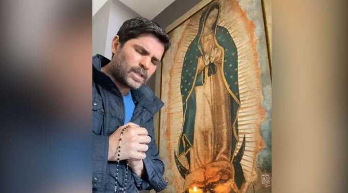 Eduardo Verástegui y la Virgen de Guadalupe