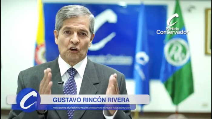Gral Gustavo Rincón Rivera Presidente RS