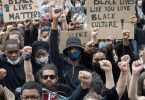 BLM march