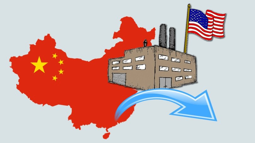 US companies leaving China