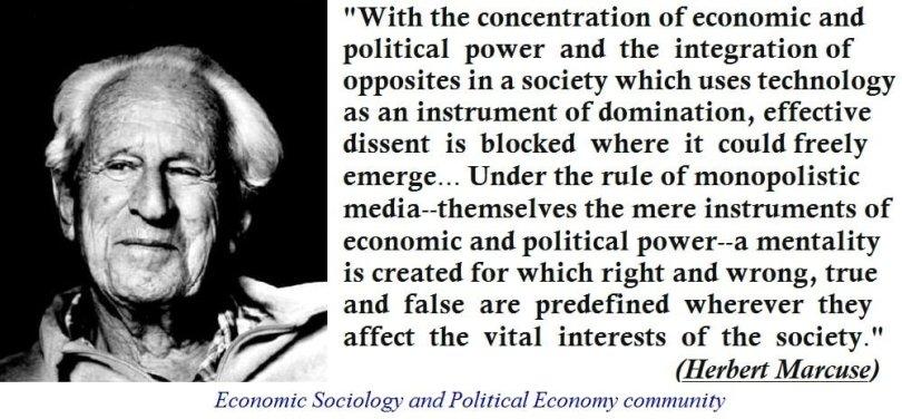 herbert Marcuse on capitalism