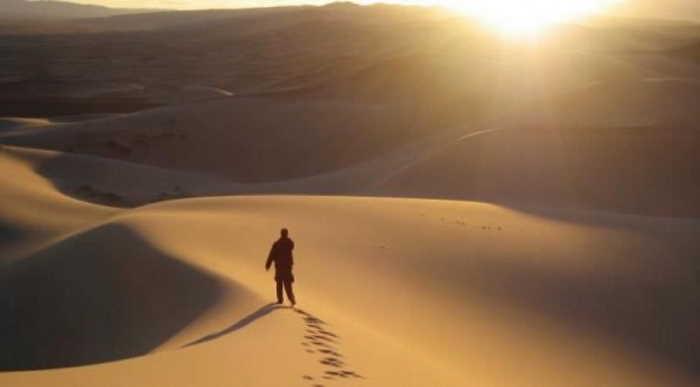 Caminar en el desierto