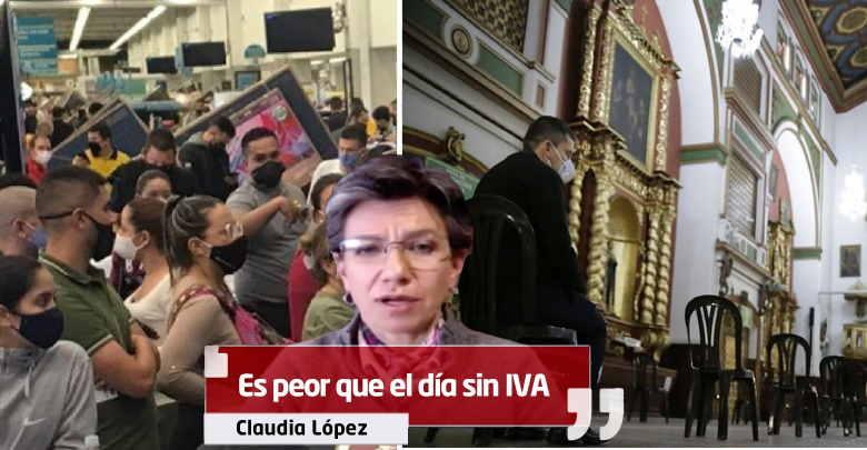 Claudia López Iglesias peor que día sin iva