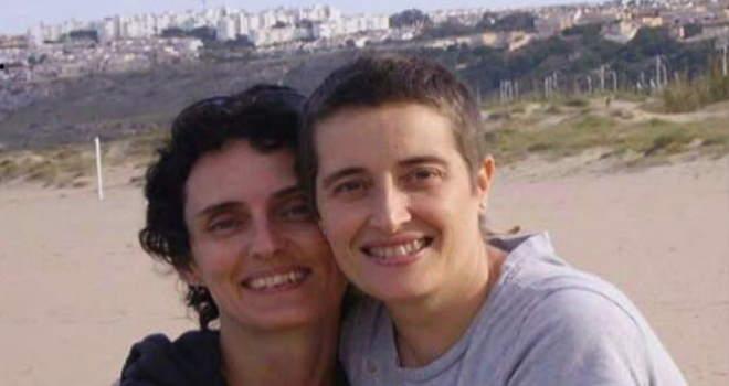pareja lesbianas