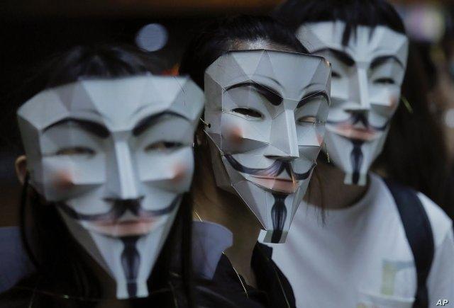 Mascaras tras las que se oculta el verdadero