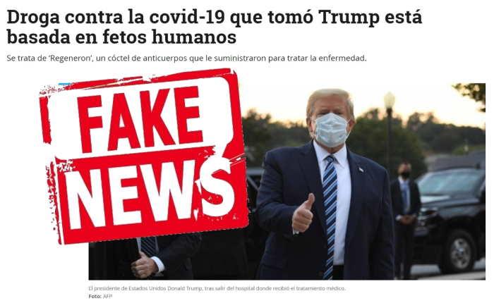Trump fetos humanos
