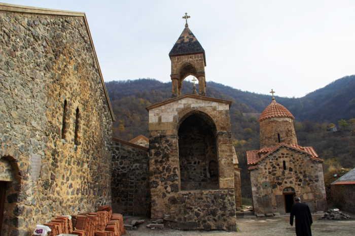 El monasterio de Dadivank Sputnik