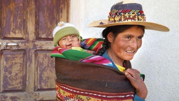 Madre boliviana