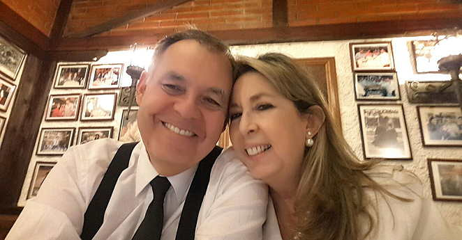 Alejandro Ordonez y Beatriz Hernandez