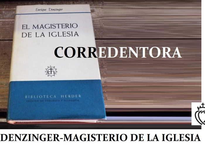 Denzinger Corredentora