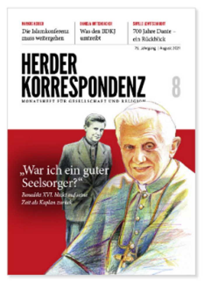 Benedicto XVI Portada Herder Korrespondenz
