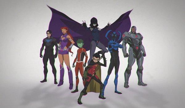 Justice League Vs Teen Titans-1947