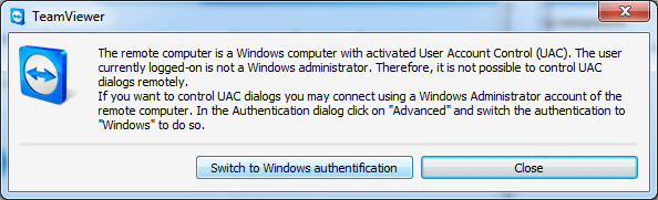 Switch to Windows authentication