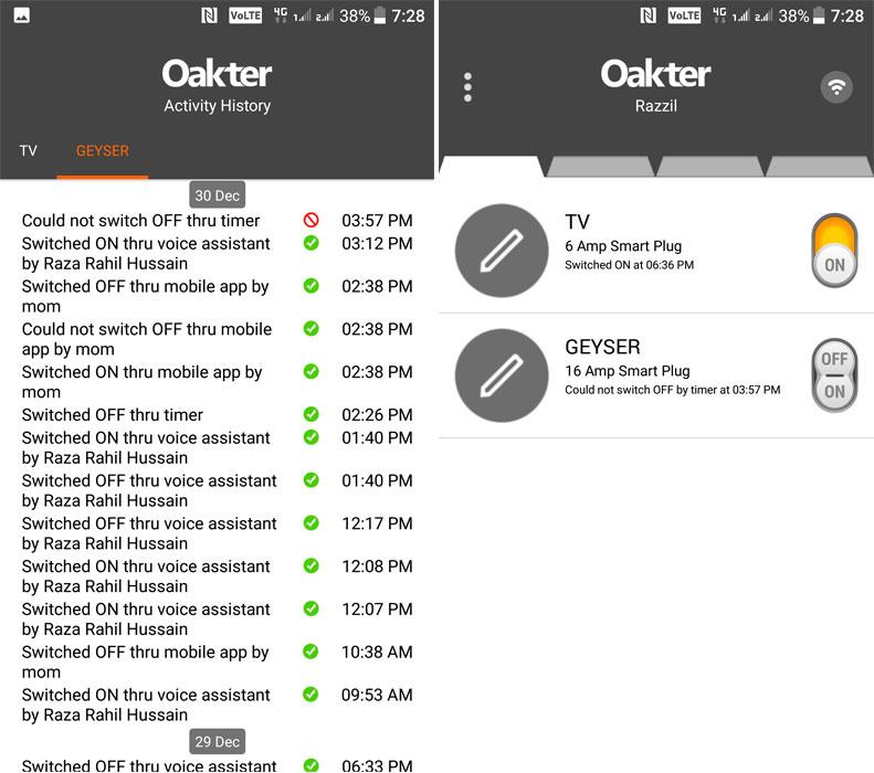 Oakter Smart Plug review