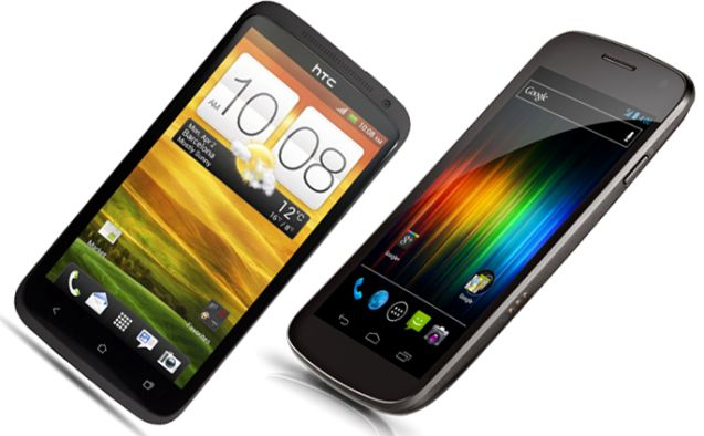 HTC One X vs Galaxy Nexus