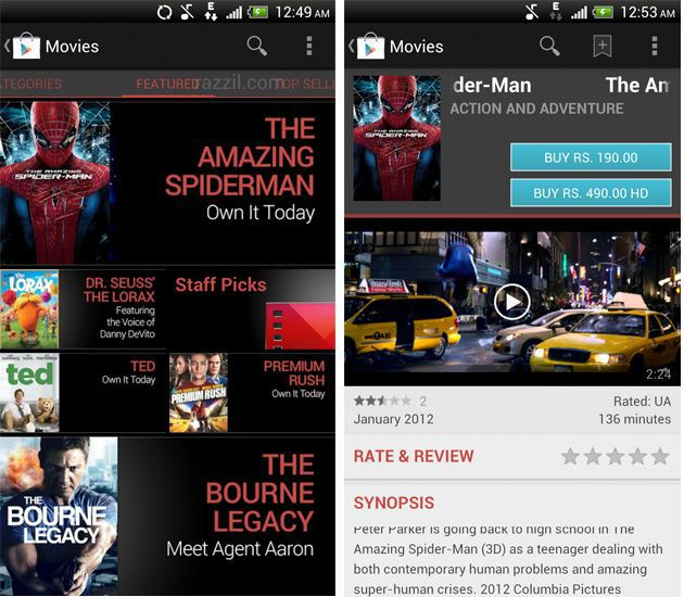 Movies Android App India