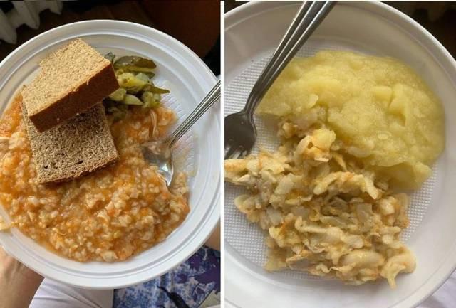 Примерно как в тюрьме: как кормят в больницах пациентов с COVID-19 (фото)