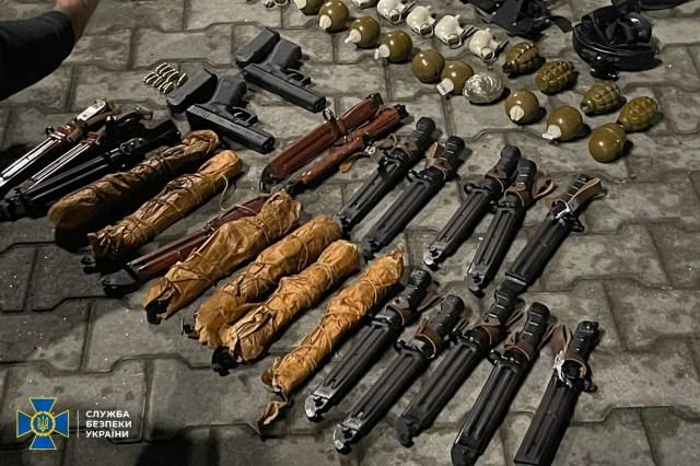 В Закарпатской области задержали торговца оружием из зоны ООС