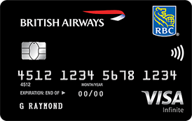 Image result for RBC british airways visa