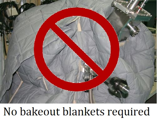 No-bakeout-blankets-required