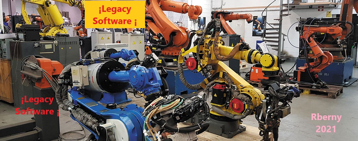 Peligro Legacy Software Rberny 2021