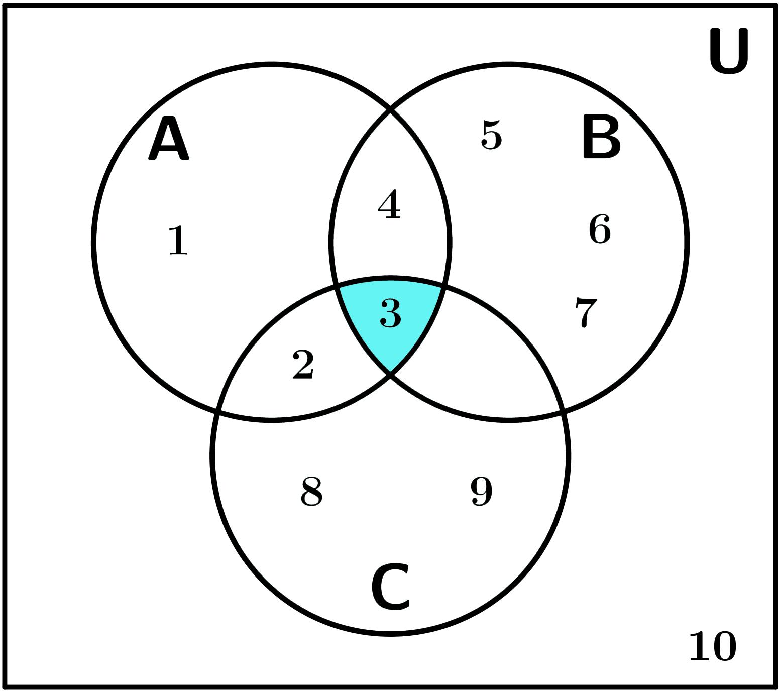 Diagrama De Venn Tres Conjuntos Ejemplos